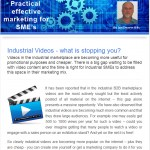 The Industrial Marketing Agency Newsletter, January 2014