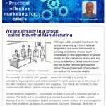 We are already in a group - called Industrial Manufacturing - 3rd March 2015 Newsletter