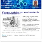 When was marketing ever more important - 1st April 2015 Newsletter