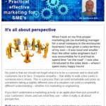 It's all about perspective, 9th September 2015 Newsletter