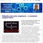 Website and sales engineers, 26th October 2015 newsletter
