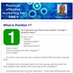 What is Position 1, 16th December 2015 newsletter